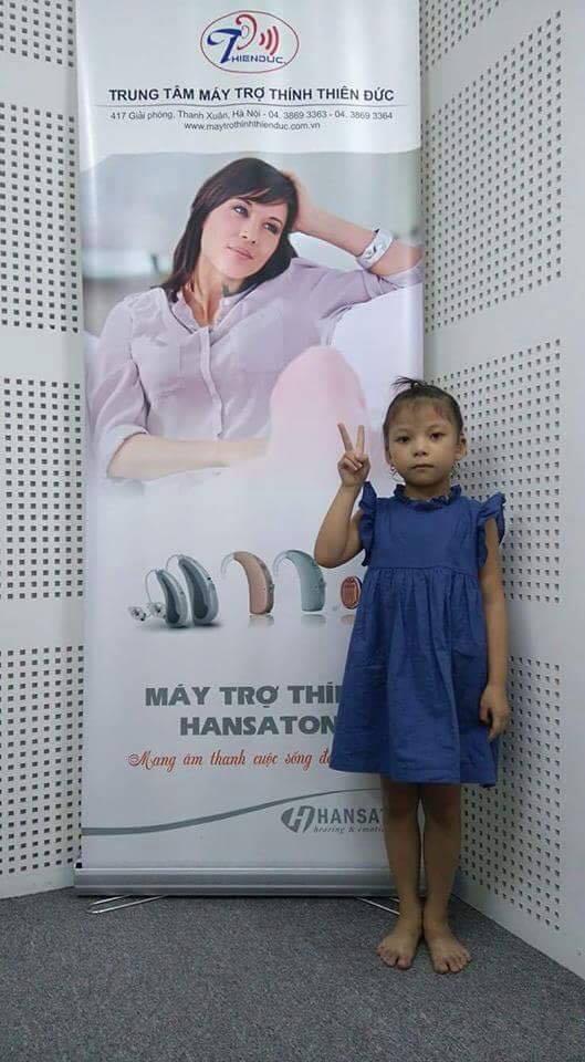 Chương trình tặng máy trợ thính Beat 7 cho bé Hoàng Khánh Nhi