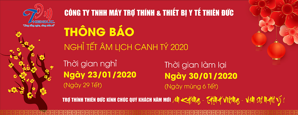 Thông báo Lịch nghỉ tết Âm lịch Canh Tý 2020
