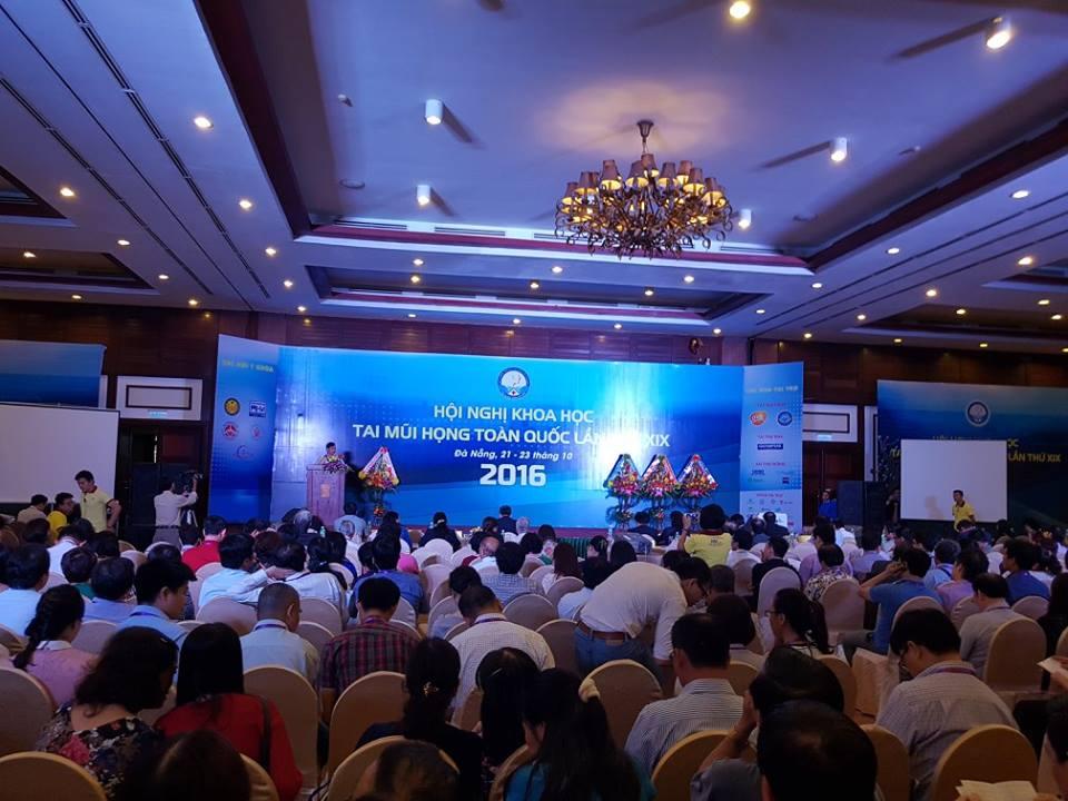 Hình ảnh Hội nghị Tai mũi họng toàn quốc tại Đà Nẵng 2016