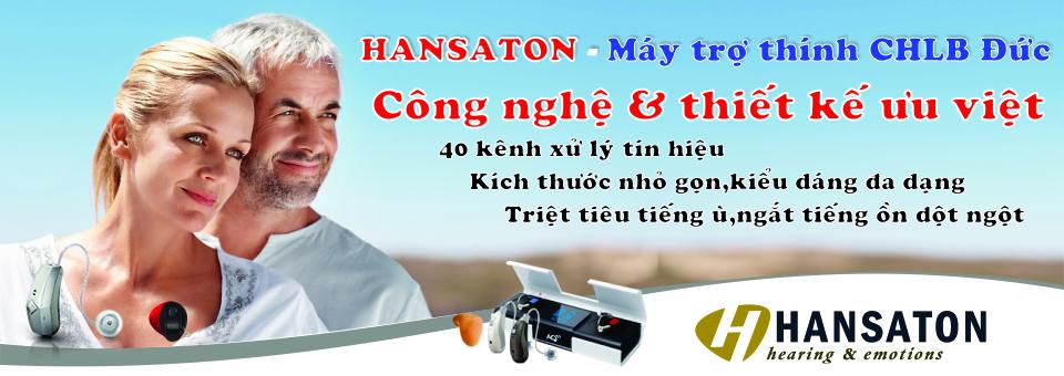 Máy trợ thính chính hãng Hansaton - CLHB Đức