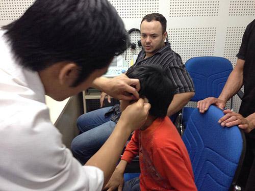Hiệu chỉnh máy trợ thính tại Trợ thính Thiên Đức